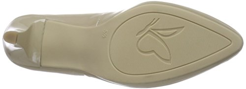 Caprice 22410, Escarpins femme Beige (sand Patent 302)