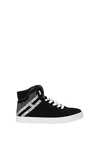 HXC1410T3609TI0353 Hogan Sneakers Kind Wildleder Schwarz Schwarz