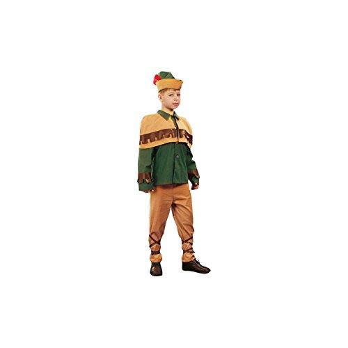 Aptafêtes–cu240189/116–Kind Troubadour Kostüm–Größe 4/5Jahre 116cm (Kostüm De Troubadour)