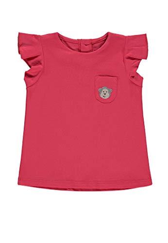 Bellybutton mother nature & me Baby-Mädchen m. Flügelarm T-Shirt, Rot (Rouge Red 2108), (Herstellergröße: 92) -