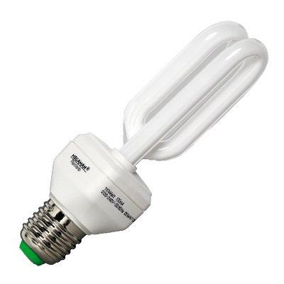 IDV Energiesparlampe 14 W E27 230 V, Pflanzenlampe ESL,