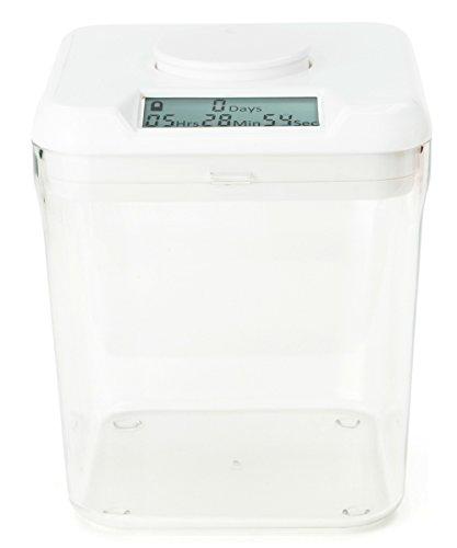 Kitchen Safe: Verschließbarer Behälter mit Zeitschaltuhr (Weißer