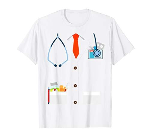 Arzt Kostüm TShirt Lustige Doktor Kostüme Herren Jungen  - Lustige Doktor Kostüm