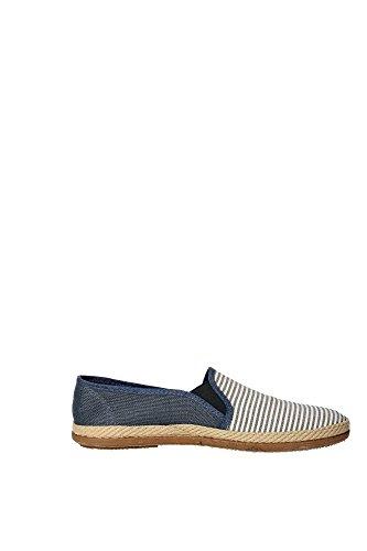 Victoria - Elast rayas azul - Chaussures basses toile Bleu moyen
