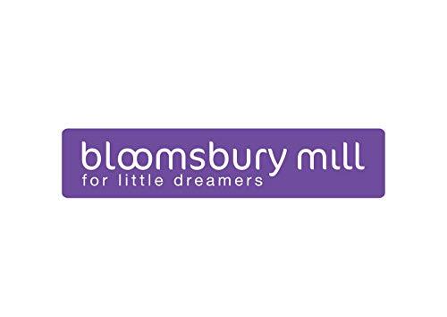 Bloomsbury Mill Muselinas de Alta Calidad Juego de 6-70 x 70cm 100 /% Algod/ón Puro Espiga y Lunares Estampado de Estrellas Rosa y Blanco