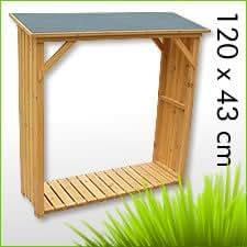 holz kaminholzregal brennholzregal kaminholz brennholz. Black Bedroom Furniture Sets. Home Design Ideas