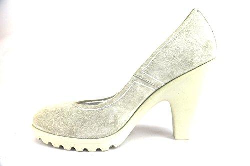 HOGAN decolte donna camoscio beige / grigio Beige