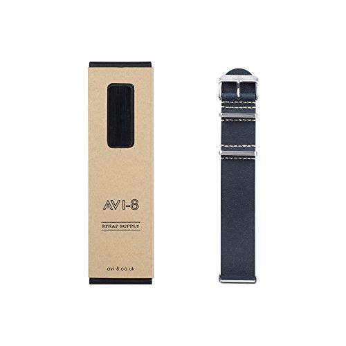 avi-8-mens-blue-leather-buckle-pin-of-length-22-cm-av-nato22-l04
