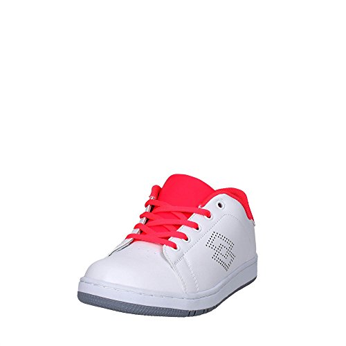 Lotto S7903 Sneakers Fille Blanc/rose