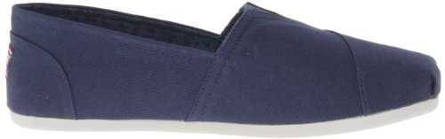 Bobs De Skechers Peluche Peace And Love Flat Bleu