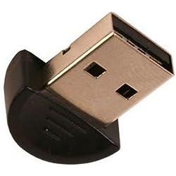 Mini Bluetooth Adapter / USB 2.0 to Bluetooth V2.0 EDR / Geignet auch für Vista / USB V1.1 und V2.0 kompatible / Chipsatz: Broadcom 2045 / Reichweite 20 Meter