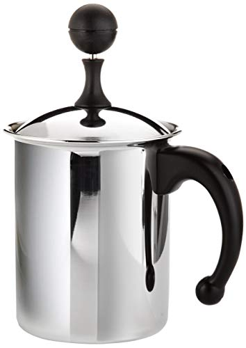 Frabosk Montalatte CASALINGHI Cappuccino Creamer Inox Pentole e Preparazione Cucina, Acciao, 11 cm