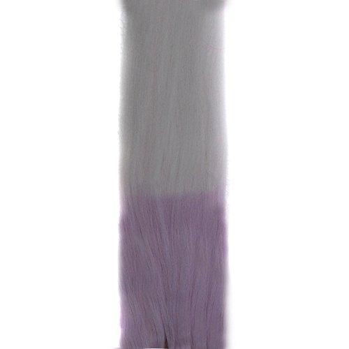 Luckhome Highlight Haarverlängerungen, Multi-Farben Party-Highlight Clip Auf Haar, Perücken Für Frauen Ändern Sie Farben In Der Sonne Bunte Gerade Haarverlängerungs Haarteile Perücke ()