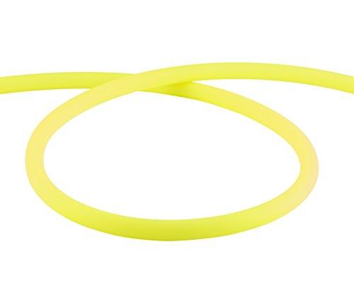 Preisvergleich Produktbild AMY Deluxe Shisha Silikonschlauch matt - gelb | 150 cm