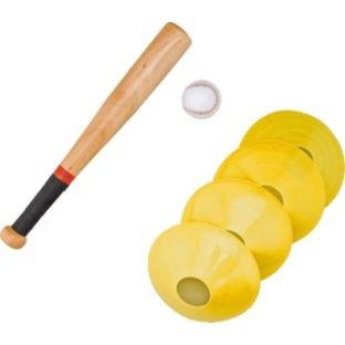 Pro Entfernung Schlagball-Set, bestehend aus einem 45.72 cm, ball und Schläger-marker 4 cones. alles man braucht, um ein Spiel zu machen.