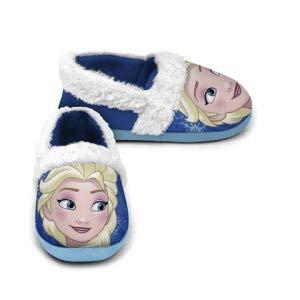 Zapatillas Cerradas con Pelo de Frozen Talla 24/25