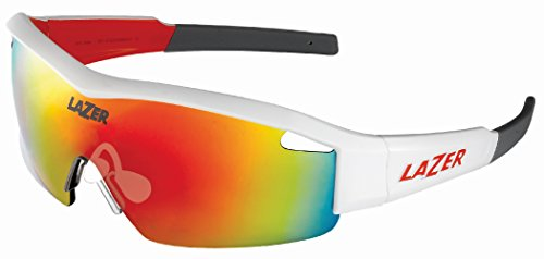 Lazer SS1 Solid State Brille, White, One Size