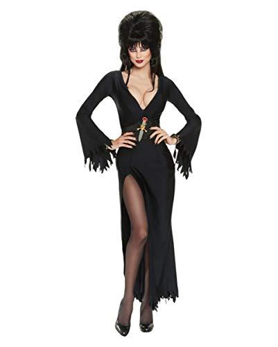 Horror-Shop Elvira Deluxe Kostüm SM (Elvira Kostüm Perücke)