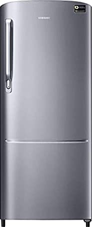 Samsung 212 L 3 Star Inverter Direct Cool Single Door Refrigerator(RR22T272YS8/NL, Elegant Inox)
