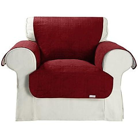 LBLI microsuede impermeabile di copertura cubo pieno sedia quilting ,