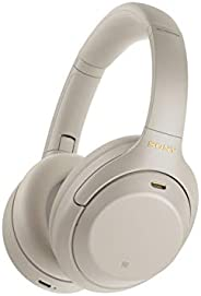Sony WH-1000XM4 Wireless Noise Cancelling Bluetooth Over-Ear Headphones With Speak to Chat Function and Mic Fo