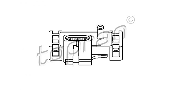 Topran 206 952 Sensor Saugrohrdruck Auto