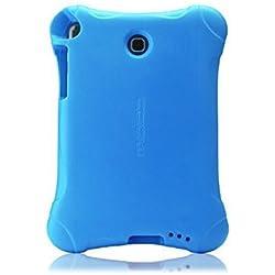 MoKo Tab à 7.0Housse-légère Anti-Choque Design Convertible Super Couverture avec Support pour Samsung Galaxy Tab 7.0Pouces (sm-t280/sm-t285) 2016de lazamiento Bleu