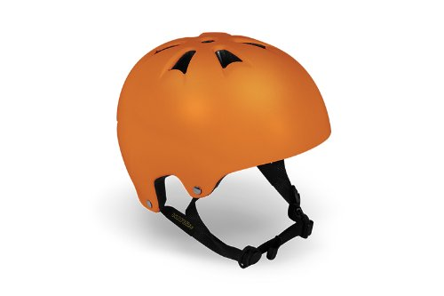 HARSH BY MADD MGP SCOOTER SKATER HELM Skaterhelm BMX Helm (X-Small, ORANGE)