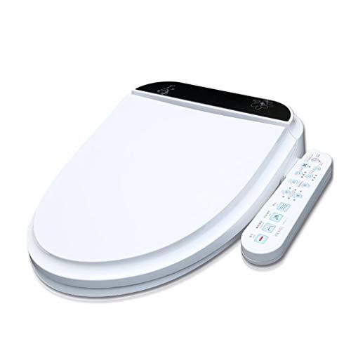 BidetsIntelligente Bidets Antibakterieller WC-Toilettensitzdeckel, Bidet Electric Digital Smart beheizter und warmer Lufttrockner, mit verstellbaren Scharnieren -