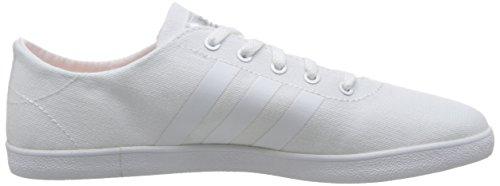 adidas Damen Cloudfoam Qt Vulc W Turnschuhe Bianco ( Ftwbla/Ftwbla/Plamat)