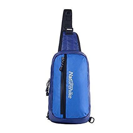 NatureHike Sacchetto di spalla unisex Sacchetto di sport all'aria aperta Ciclismo Sacchetto di Bosco Sacchetto impermeabile del messaggero (Sky Blue) Blue