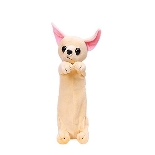 SAMGU Mignon chien Crayon Trousses Papeterie Pounch Cosmétique Sac bureau décoration