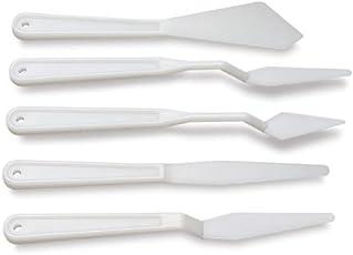 Brustro Plastic Palette Knives Set of 5