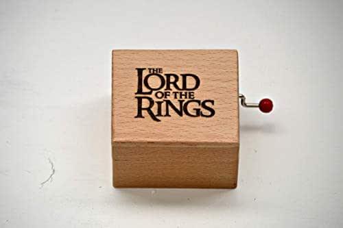 Piccolo carillon in legno di qualità con la melodia del film Il Signore degli Anelli (The Lord of The Rings). Un regalo ideale per i fan.