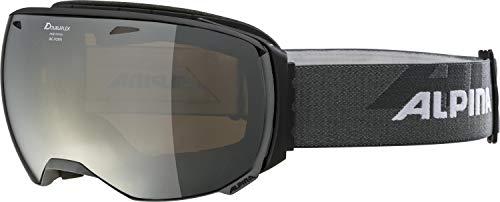 ALPINA Erwachsene Big Horn MM Skibrille, Black matt, One Size