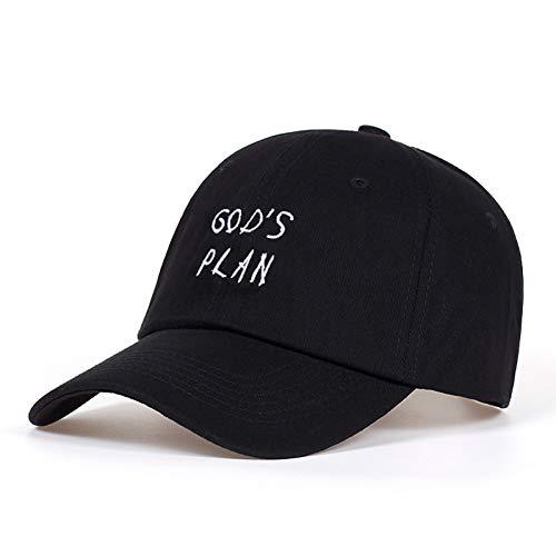 MAOZIJIE 100% Baumwolle Gods Plan Papa Hut Hysteresen Unisex Baseball Caps Konzert Hut Hip Hop Rapper Frauen Männer