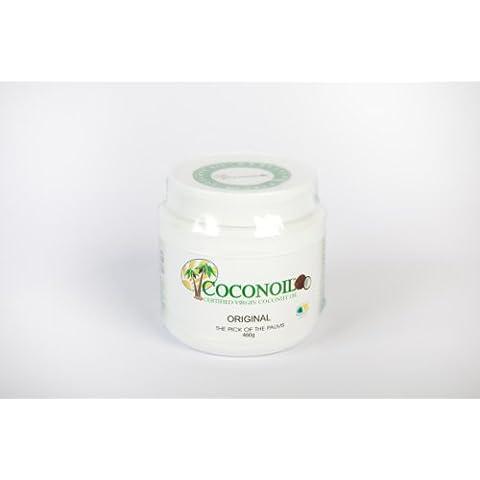 Aceite de Coco Virgen Certificado Coconoil Original 500 ml