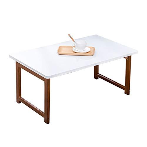 Lap Desk Stand (Laptop-Tablett mit Klappbeinen aus Bambus Faltbares Frühstücks-Serviertablett | Lap Desk | Laptop Stand | Tragbarer Schreibtisch für Bett Weiß)