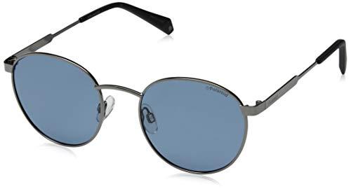 Polaroid Unisex-Erwachsene PLD 2053/S C3 PJP 51 Sonnenbrille, Blau (Bluette/Grey Pz)