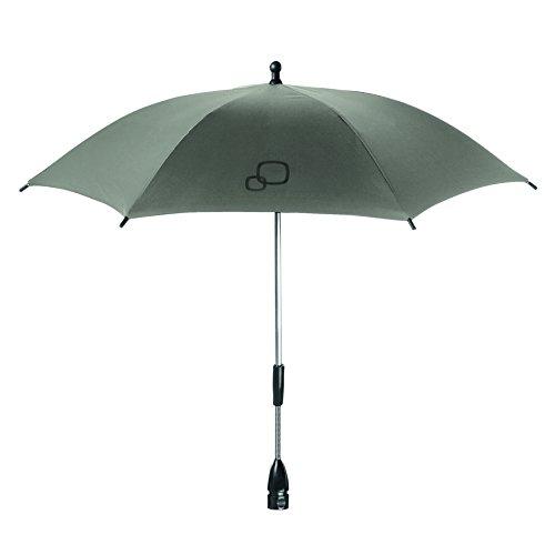 Quinny Sonnenschirm für Quinny Kinderwagen und Buggys, UV-Lichtschutzfaktor von 40+, grau