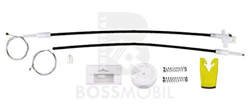 Bossmobil Renault Megan 1 I (BA0/1_), Classic(LA0/1_),Coach (DA0/1_), Grandtour (KA0/1_), Delantero derecho, kit de reparación de elevalunas eléctricos