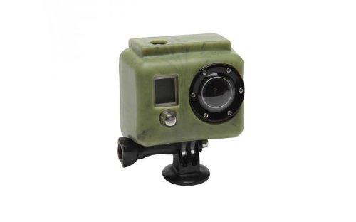 X-Sories Gopro Silicon-schutzhaube HD For Gopro, camo dark green, SILG camo dark green Hd Green Camo