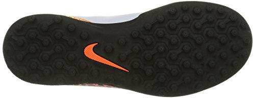 Nike Junior Hypervenom Phade Ii Tf, Chaussures de Football Amricain Mixte Enfant, Blanc Blanco (White / Black-Total Orange-Volt)