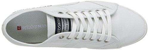 Redskins Zivec, Baskets Basses Homme Blanc (Blanc/Navy)