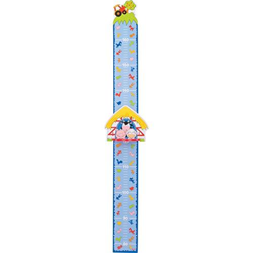 Goki 60800 medidor Altura niños Multicolor Madera