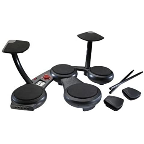 Sharper Image Digital 6-Piece Electronic Drum Set by Sharper Image