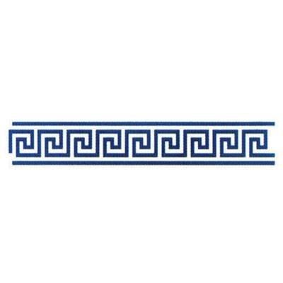 Kreul B109 - Motiv-Schablone, selbstklebend Meandros, 11 x 70 cm