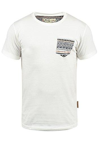 INDICODE Paxton T-Shirt, Größe:3XL;Farbe:Off-White (002)