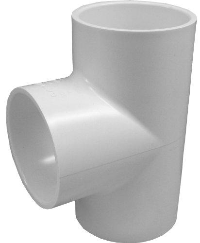 Genova Produits de plomberie et d'arrosage Tee - Lot de 10 2.54 cm