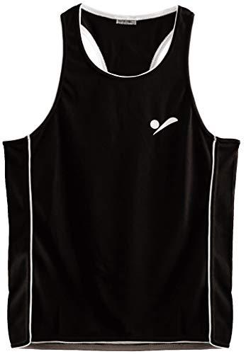 Beach Volleyball Apparel Kinder Beachvolleyball Shirt Trikot Sport Tank Top TT100 - Schwarz - S - 158-164